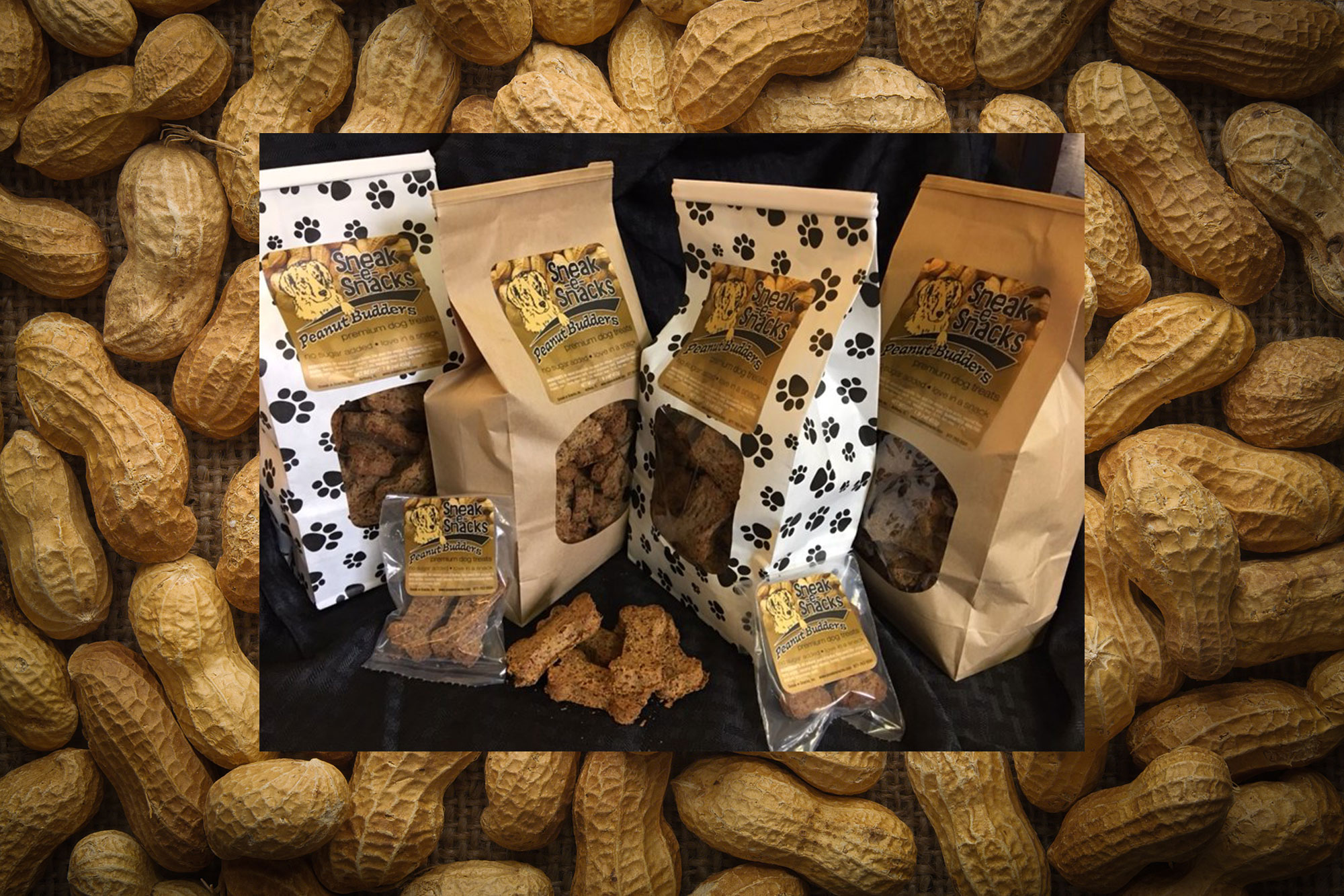 Peanut Budders Dog Treats